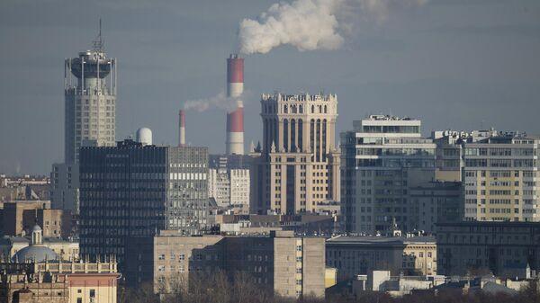 Вид на Москву с Воробьевых гор