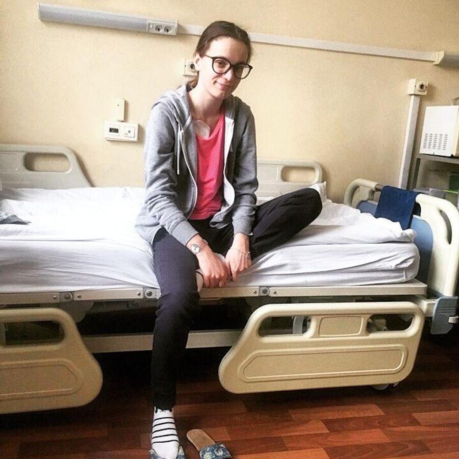 Елизавета Усанова в больнице после очередного обострения