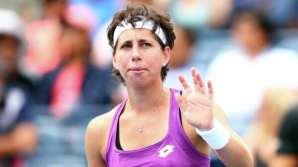 Теннисистка Карла Суарес-Наварро (Испания)