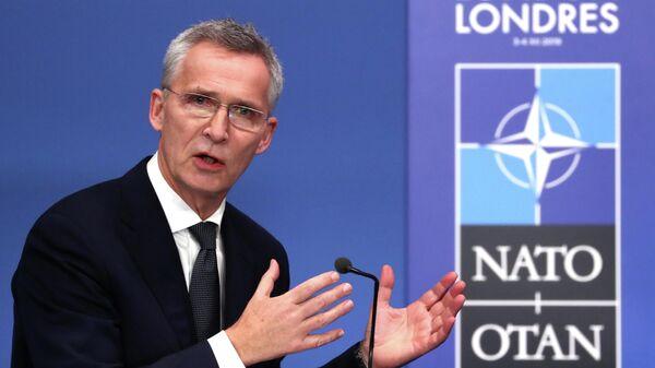 Генеральный секретарь НАТО Йенс Столтенберг на саммите НАТО в Уотфорде