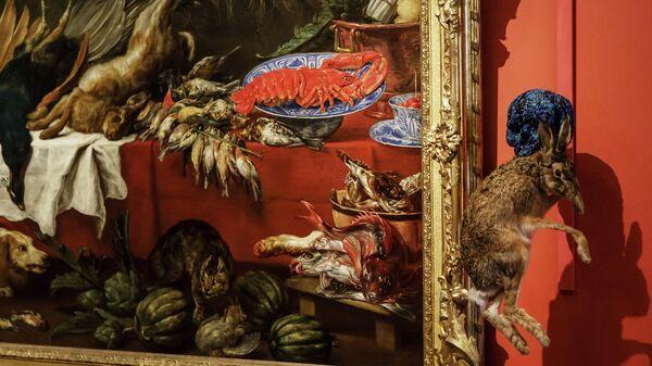 Открытие выставки Яна Фабра в Эрмитаже
