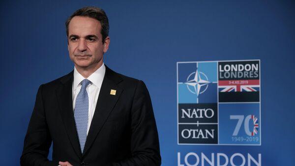Премьер-министр Греции Кириакос Мицотакис