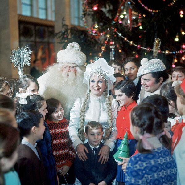 Праздник Новогодней елки в Кремлевском Дворце съездов