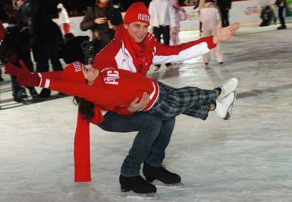 Открытие Большого зимнего катка на Красной площади
