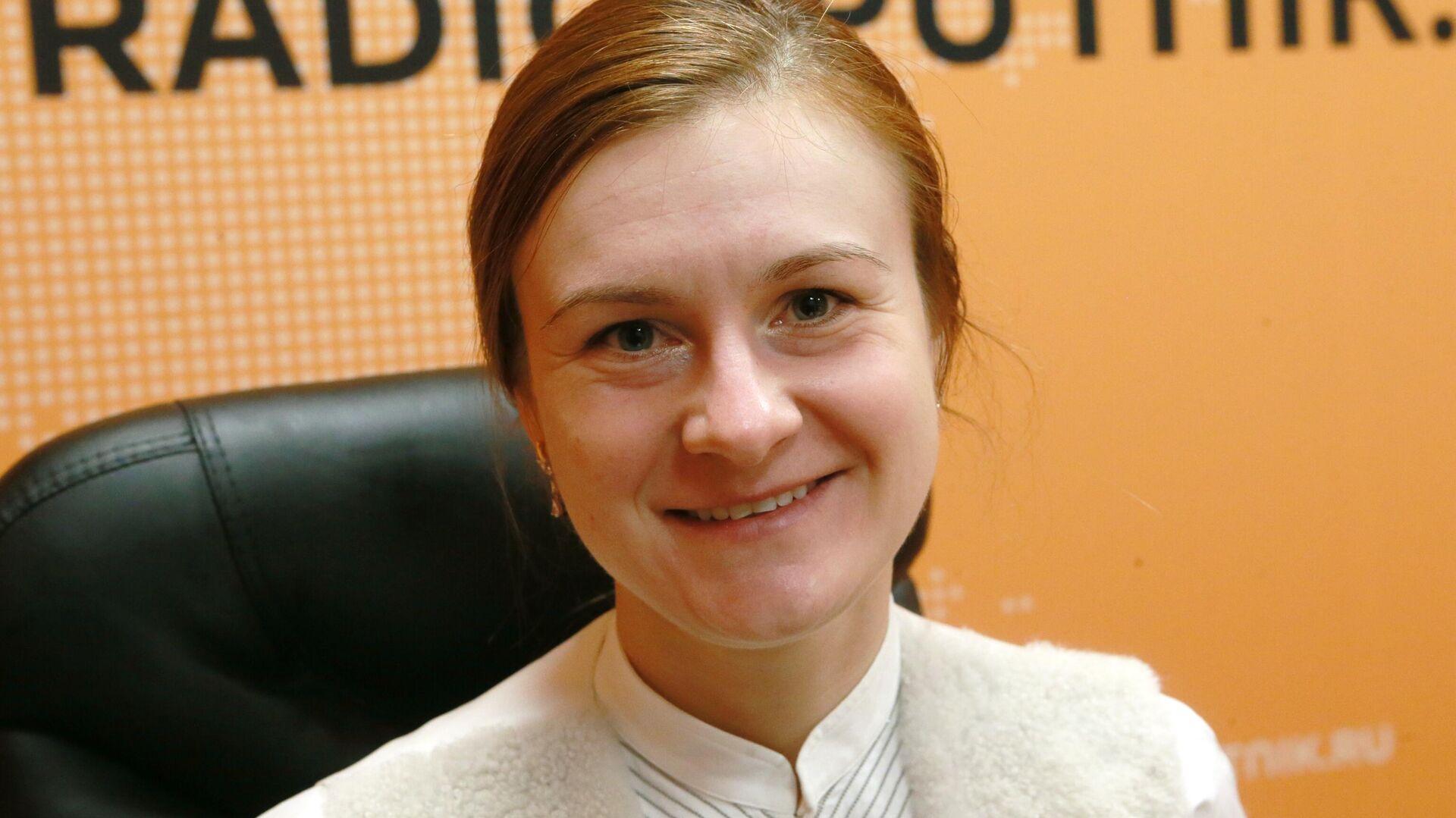 Мария Бутина в студии радио Sputnik - РИА Новости, 1920, 30.10.2020
