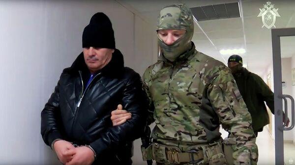 Задержанный Хасан Полонкоев