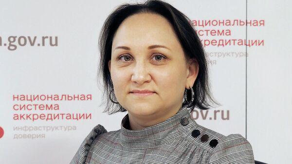 Замруководителя Федеральной службы по аккредитации Дарья Блохина