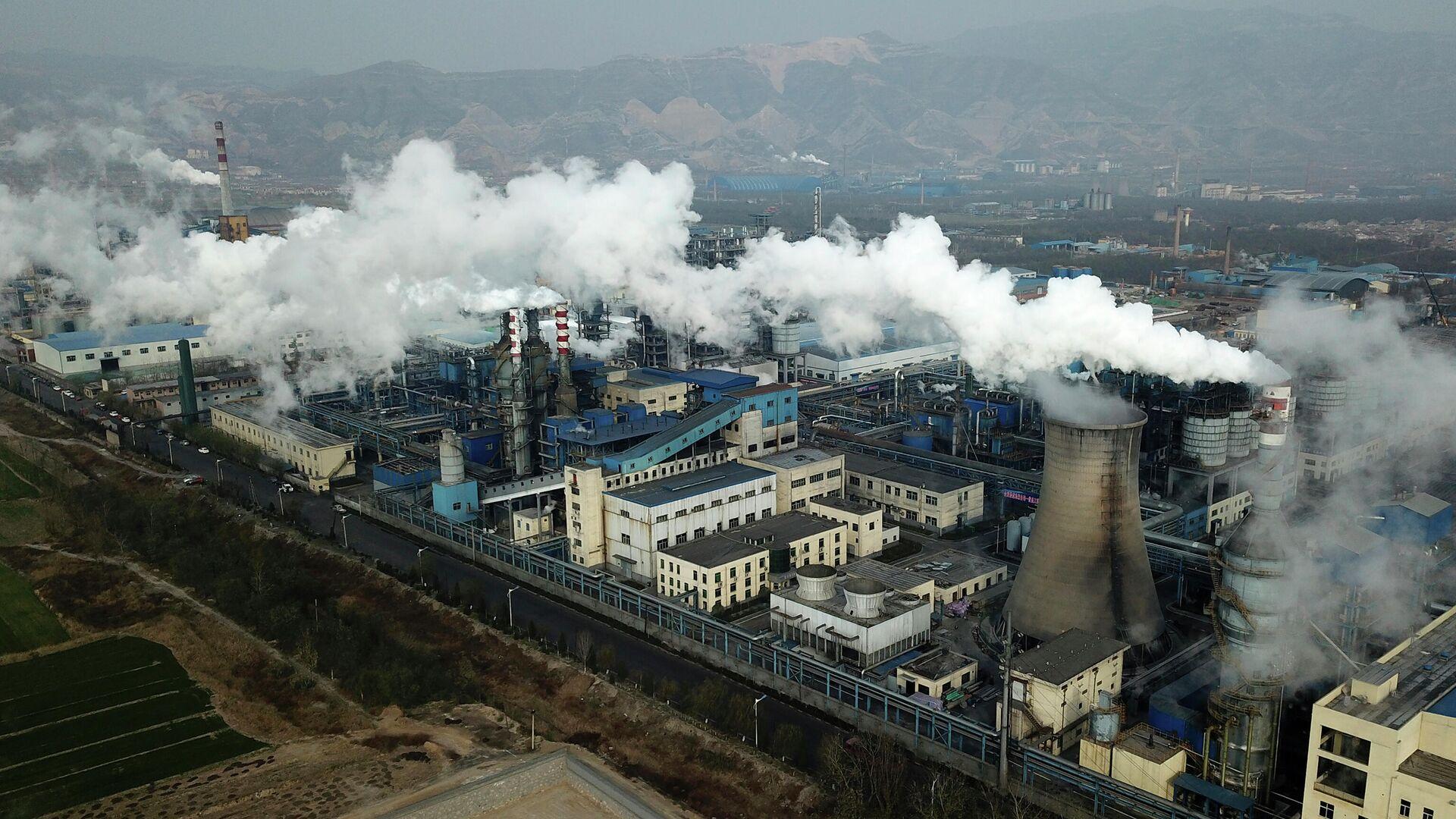 Звод по переработке угля в Хэцзине, провинция Шаньси в центральном Китае - РИА Новости, 1920, 13.05.2021