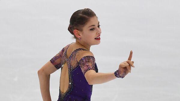 Российская фигуристка Алена Косторная