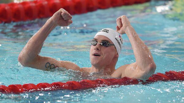 Пловец Владимир Морозов (Россия)