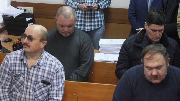 Вынесение приговора конвоирам по делу о попытке побега членов банды GTA из Мособлсуда. 9 декабря 2019