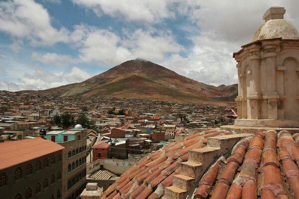 Шахтерская столица Боливии Потоси