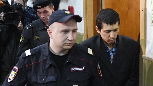 Аброр Азимов в суде
