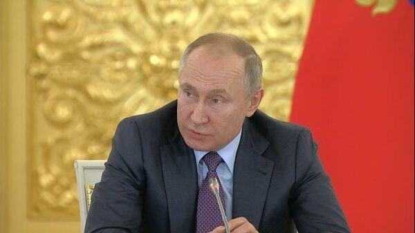 Путин спрогнозировал последствия закрытия границы военными Украины