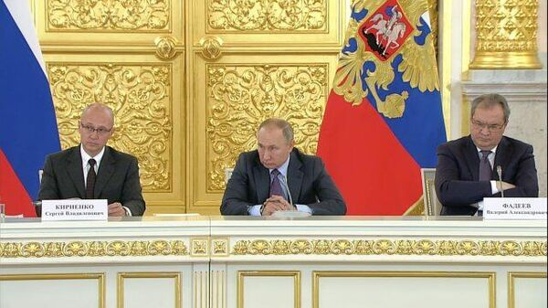 Путин попросил передать ему данные преследуемых на Украине крымчан