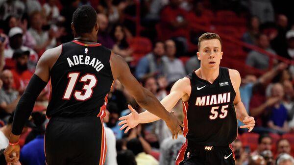 Баскетболисты Майами Хит