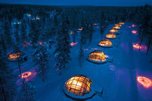 Отели Kakslauttanen Arctic Resort