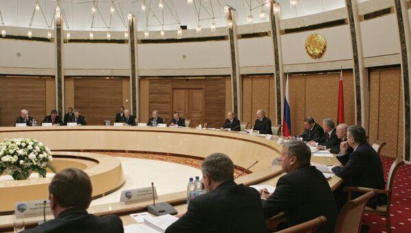 Высший Госсовет Союзного государства РФ и Белоруссии. Архив