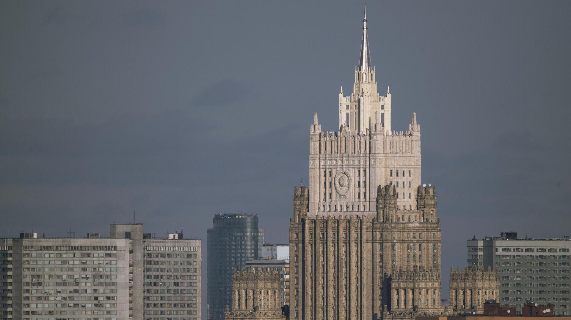 Здание МИД России - РИА Новости, 1920, 16.07.2020