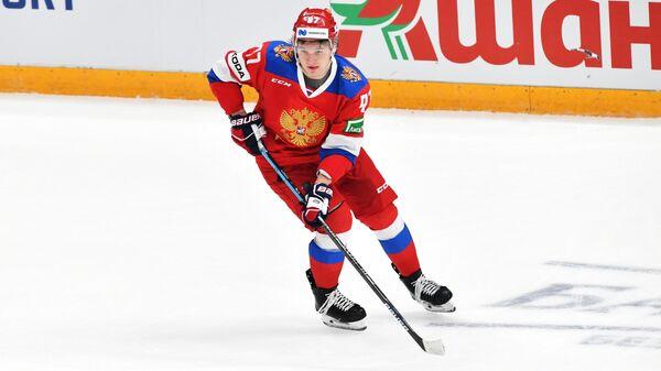 Форвард сборной России по хоккею Кирилл Капризов