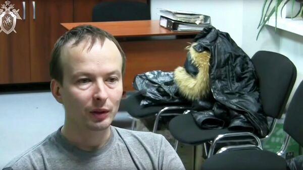 Допрос Александра Алексеева, обвиняемого в убийстве двух девушек в Екатеринбурге