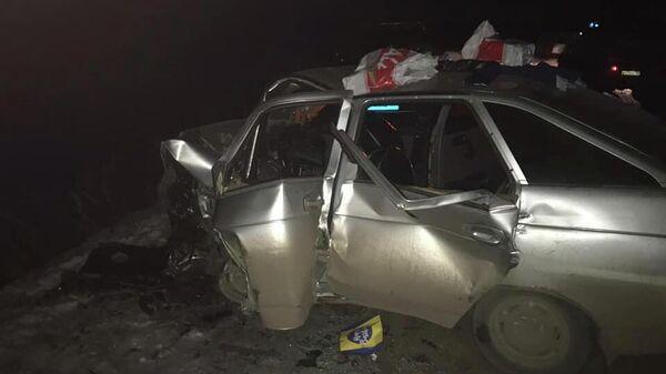Cтолкновение двух автомобилей в Башкирии