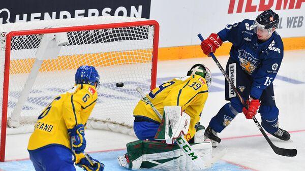 Хоккей. Кубок Первого канала. Матч Финляндия – Швеция