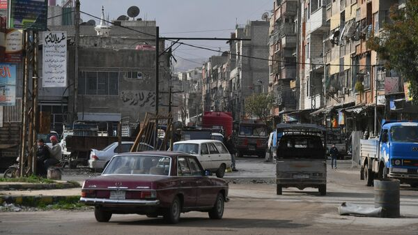 Окрестности Дамаска