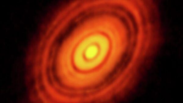 Протопланетный диск HL Тельца
