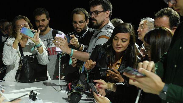Презентация смартфонов Huawei в Мюнхене
