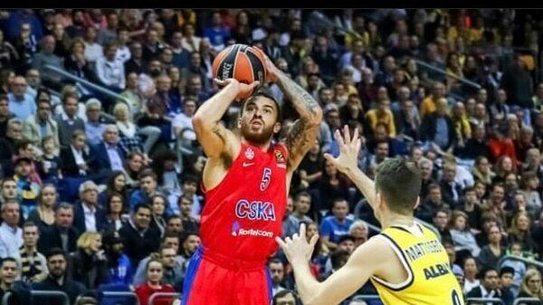 Баскетболист ЦСКА Майк Джеймс