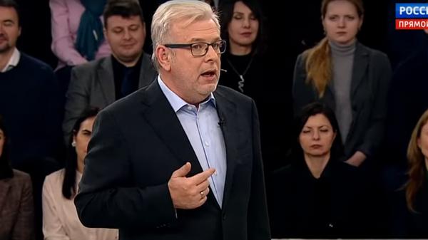Американского эксперта выгнали из студии России 1 за убогий юмор