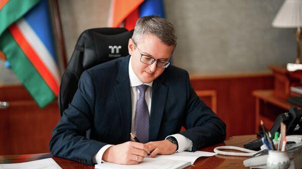 Председатель правительства Якутии Владимир Солодов
