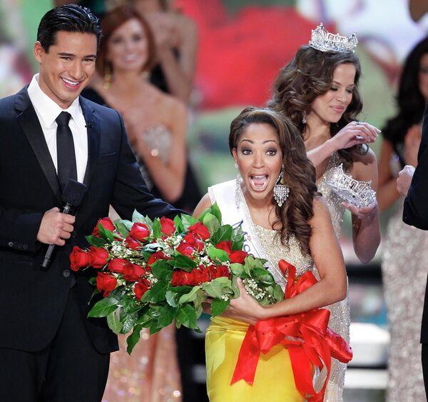 Мисс Америка 2009 Вирджиния Каресса Кэмерон