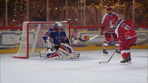 Владимир Путин сыграл в предновогоднем матче Ночной хоккейной лиги
