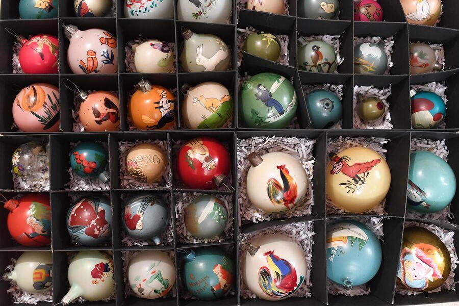 Уникальные шары с ручной росписью