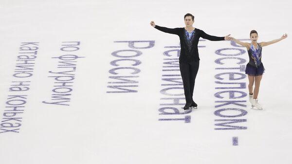 Фигурное катание. Чемпионат России. Пары. Короткая программа
