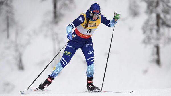 Финская лыжница Криста Пярмякоски