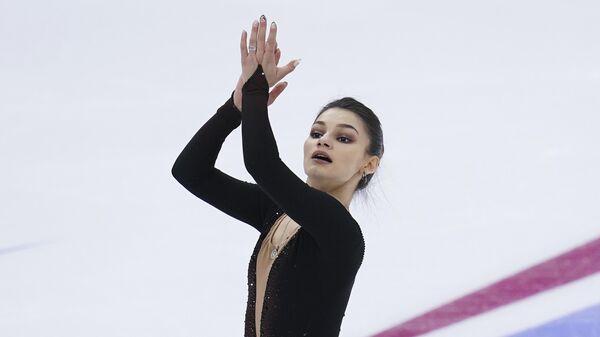 Фигурное катание. Чемпионат России. Женщины. Короткая программа