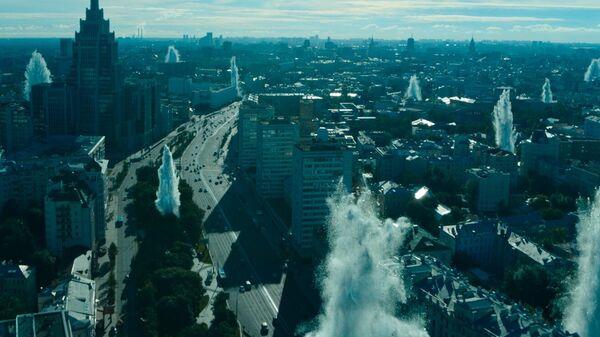 Кадр из фильма Вторжение Фёдора Бондарчука
