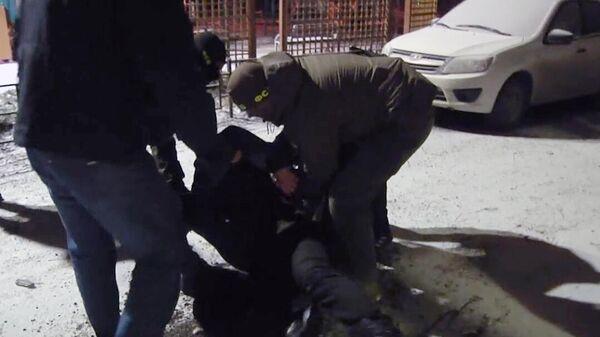 Задержание сотрудниками ФСБ РФ одного из граждан РФ, готовившего теракт в городе Санкт-Петербурге