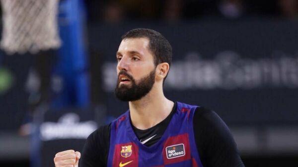 Баскетболист Барселоны Никола Миротич