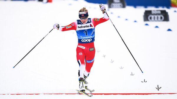 Норвежская лыжница Тереза Йохеуг