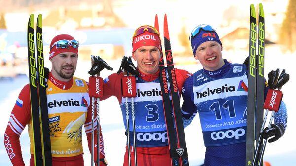 Лыжные гонки. Тур де Ски. Мужчины Гонка преследования