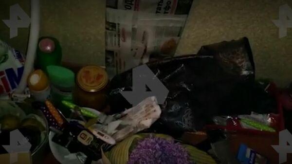 Видео из квартиры пропавшей в Новый год девочки