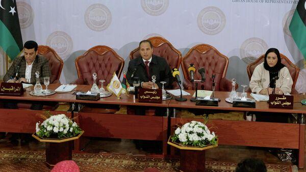 Экстренное заседание палаты представителей в Бенгази, Ливия. 4 января 2020