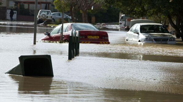 Наводнение в Тель-Авиве, Израиль