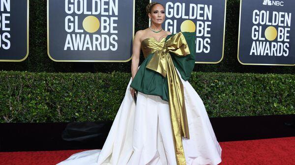 Актриса Дженнифер Лопес на 77-й ежегодной премии Золотой глобус