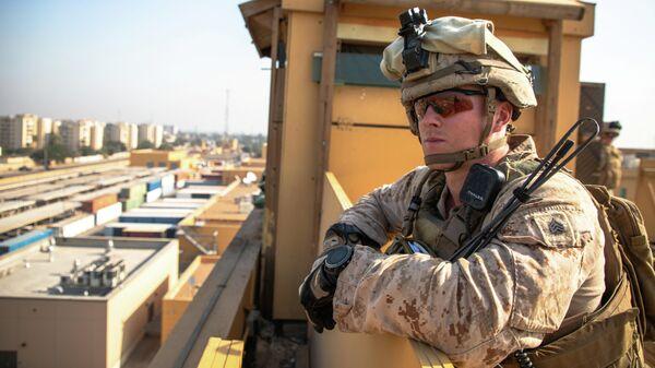 Морской пехотинец США в Ираке