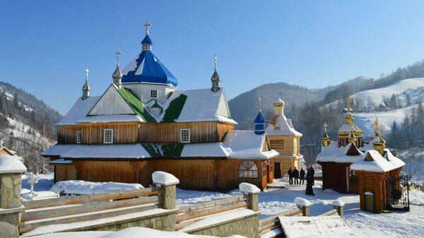 Храм УПЦ в Ивано-Франковской области, в отношении которого была предпринята попытка рейдерского захвата